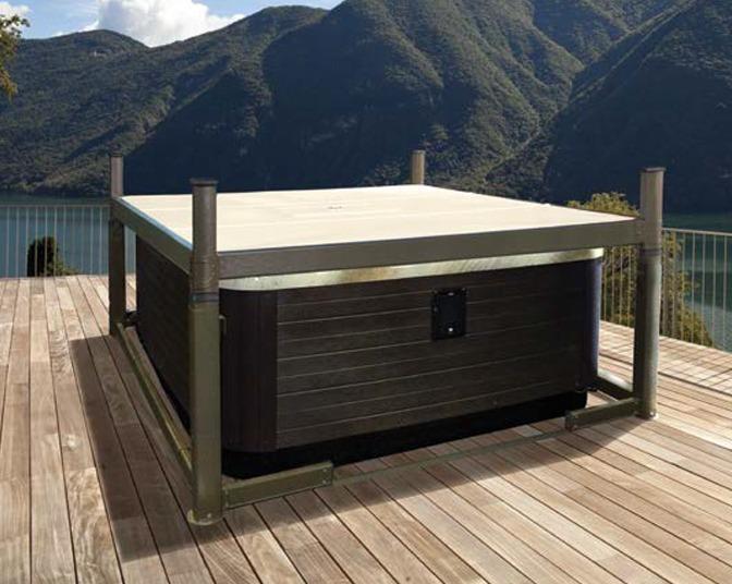 hot tub enclosure | covana evolution | hot tub gazebo