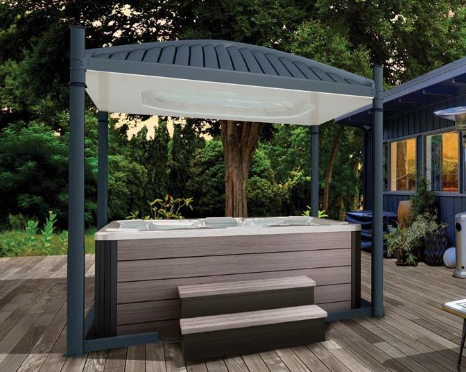 hot tub gazebo | hot tub enclosures | covana oasis